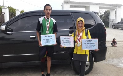 TIM Bola Voly SMAN 1 Blangkejeren Raih Juara Di Tournamen Piala Bupati